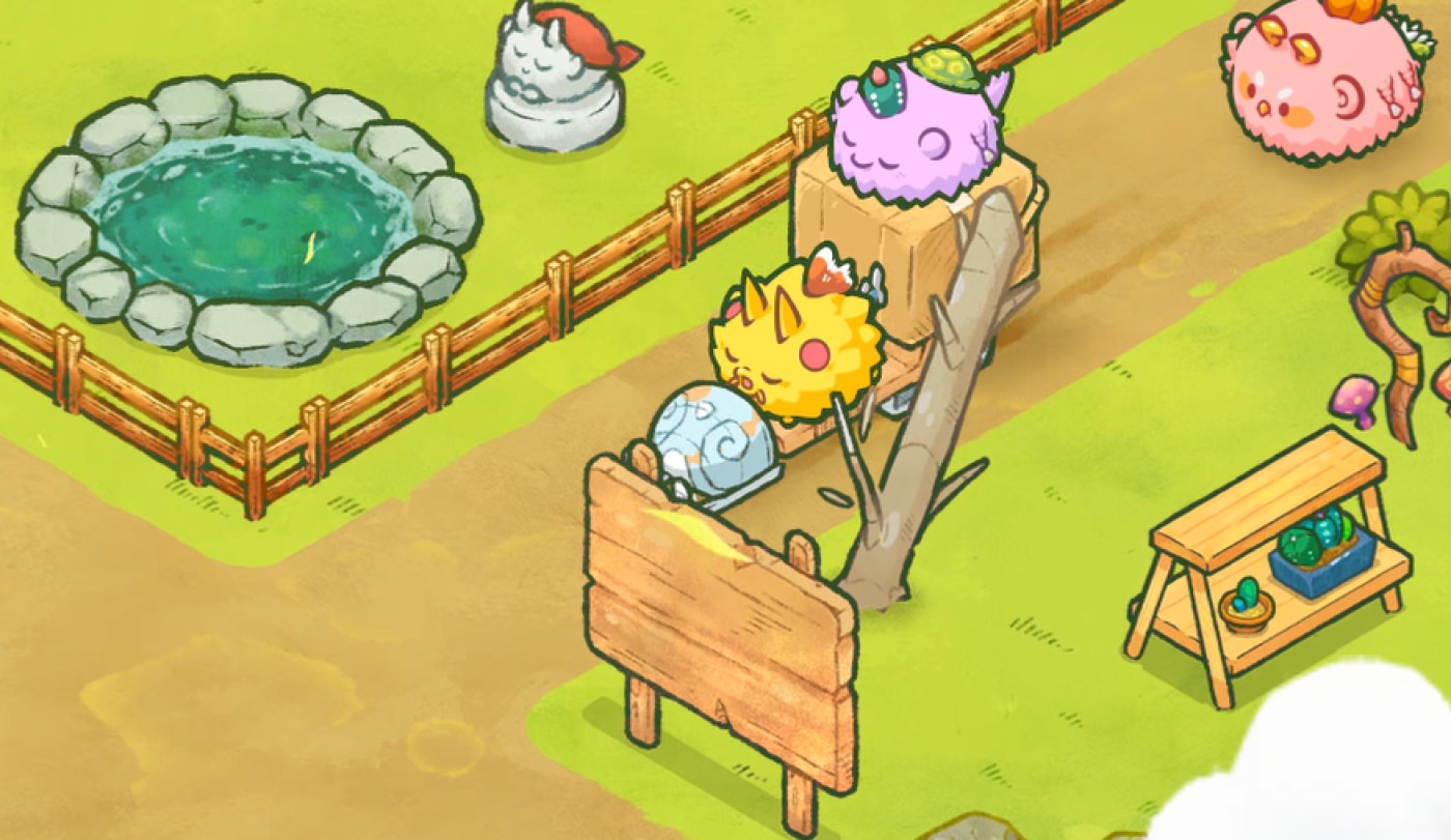 Play-to-Earn Giant Axie Infinity's Revenue Tanked 40% in September