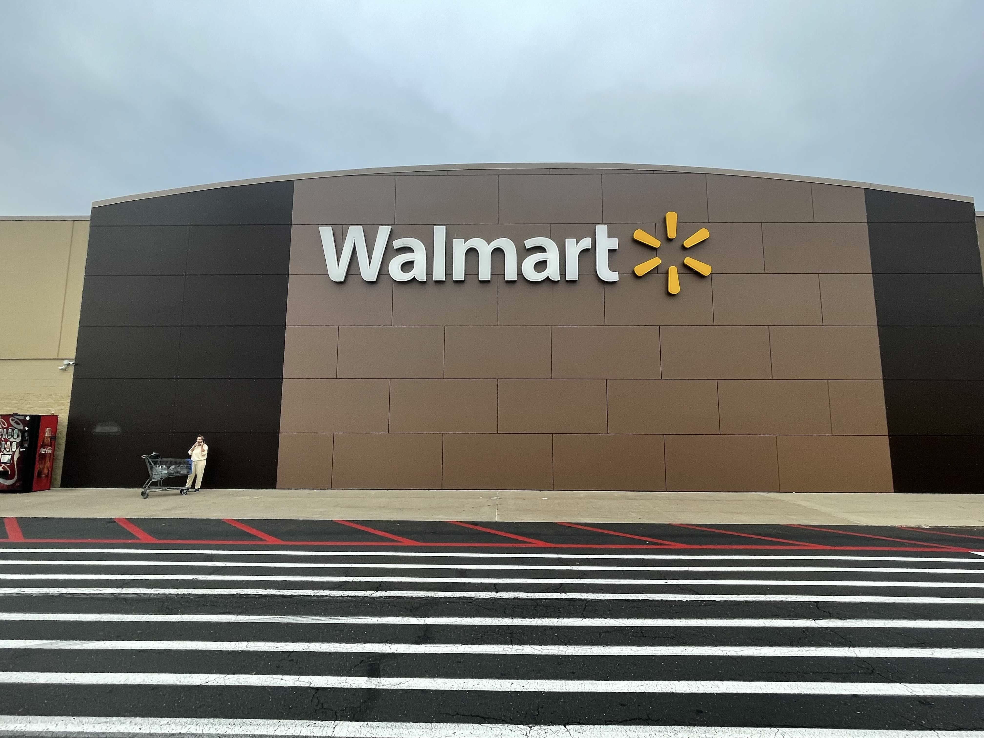 The Walmart in Warminster, Pa. (Kevin Reynolds/CoinDesk)