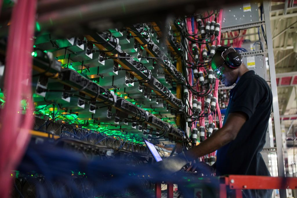 Hive Leads Crypto Mining Stocks Higher as Bitcoin Hits All-Time-High