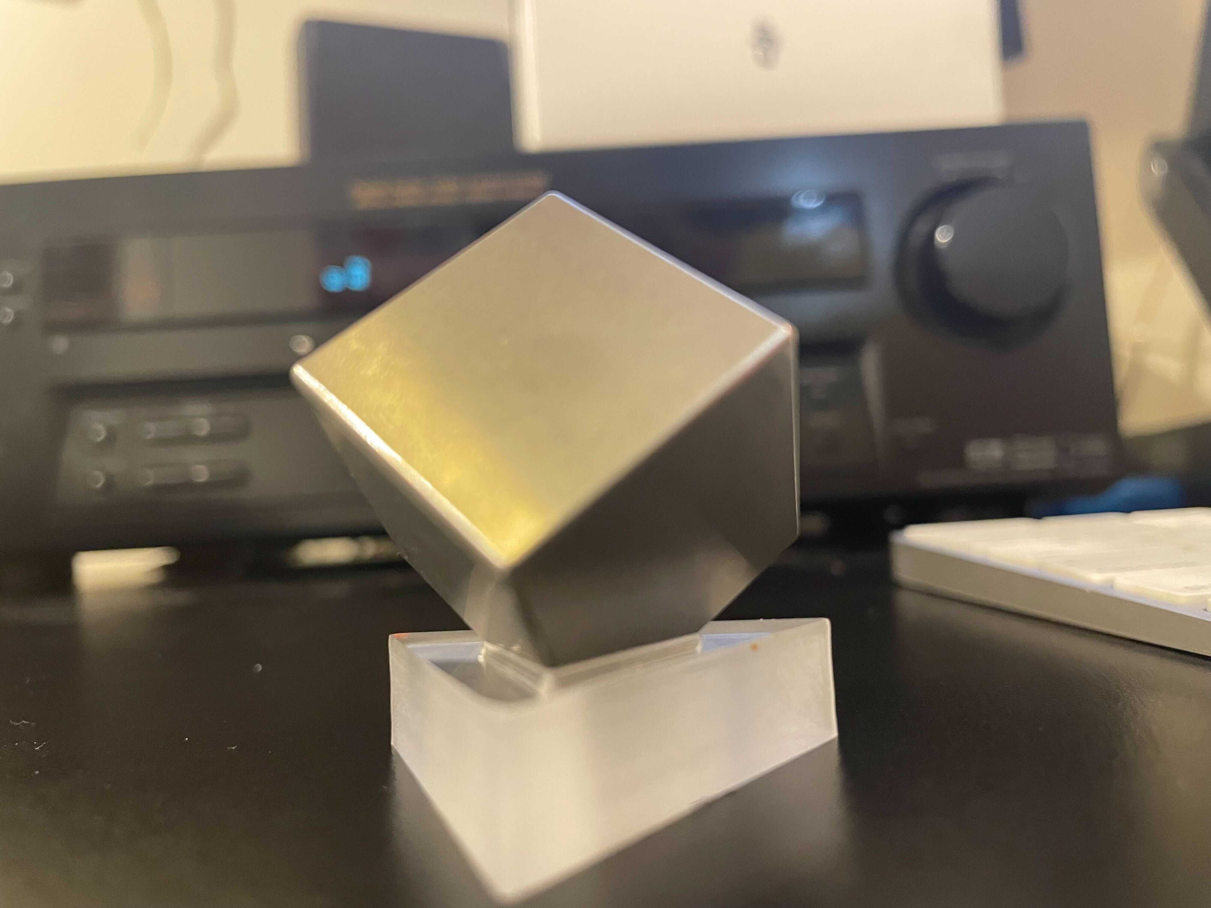 Non-Fungible Token (NFT) Collection - That Tungsten Company is Auctioning Its Largest-Ever Cube as an NFT